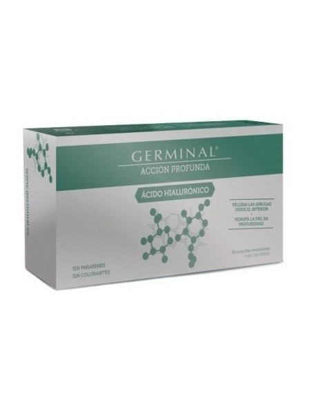 GERMINAL ACCION PROFUNDA ACIDO HIALURONICO 1 ML 30 AMPOLLAS