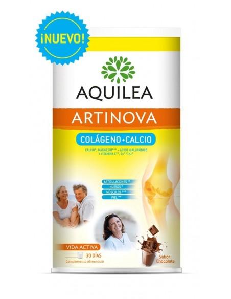 AQUILEA ARTINOVA COLAGENO + CALCIO 495 GR  SABOR CHOCOLATE