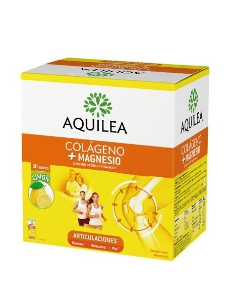 AQUILEA COLAGENO+MAGESIO 30 SOBRES  LIMON