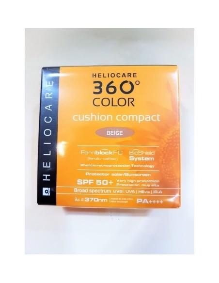 HELIOCARE 360º CUSHION COMPACT 50 + BEIGE 15gr