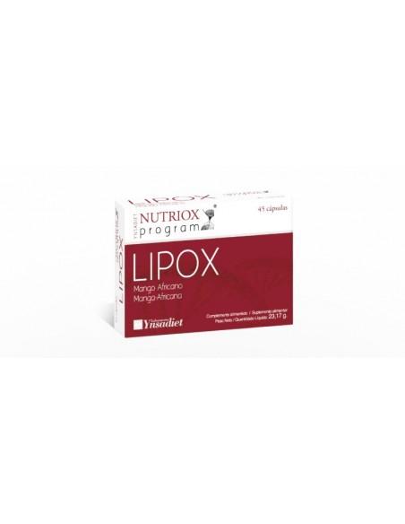 LIPOX 45 CAPSULAS NUTRIOX YNSADIET