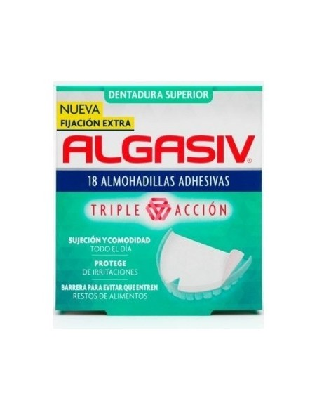ALGASIV DENTADURA SUPERIOR 18 UDS