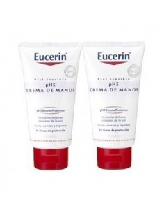 PACK DUPLO CREMA MANOS EUCERIN 2x75ML