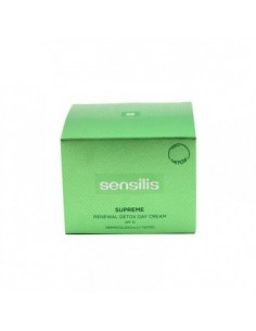 SENSILIS SUPREME RENEWAL DETOX DAY CREAM SPF15