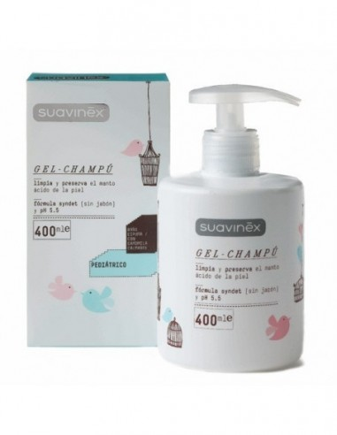 SUAVINEX PEDIATRIC GEL CHAMPU 400 ML