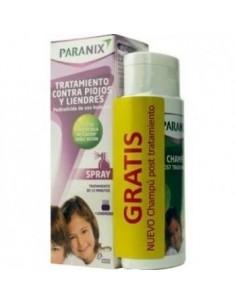 PARANIX SPRAY 100 ML + PEINE+ CHAMPU TRATAMIENTO GRATIS