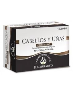 CABELLOS Y UÑAS EL NATURALISTA 48 CAPS. PACK 2 CAJAS