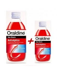 ORALDINE ANTISEPTICO PACK 400ML + 200ML.