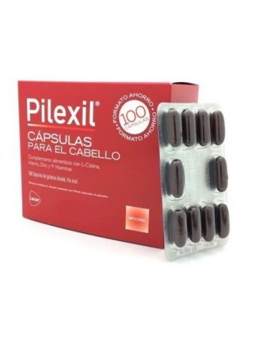 PILEXIL FORTE 100 CAPSULAS CABELLO Y UÑAS