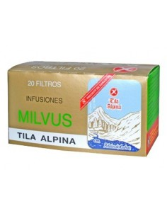 TILA ALPINA 1.2GR 20 FILTROS