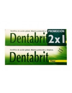 DENTABRIT FLUOR 125ML DUPLO