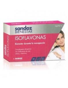SANDOZ BIENESTAR ISOFLAVONAS 30 CAPSULAS