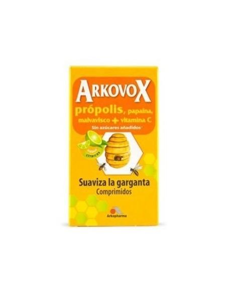 ARKOBOX PROPOLIS+VIT.C 24 COMP.MASTIC. SABOR CITRICOS