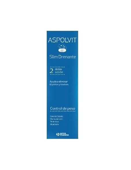 ASPOLVIT SLIM DRENANTE  14 COMPRIMIDOS EFERVESCENTES