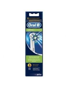 ORAL-B RECAMBIO CROSS ACTION 3 unidades