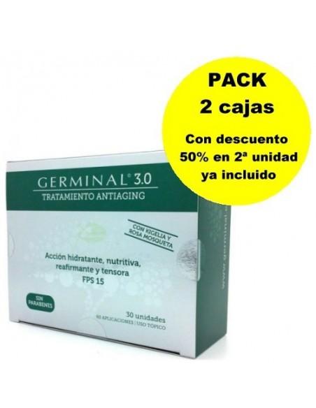 PACK GERMINAL 3.0 30 AMPOLLAS x 2 CAJAS