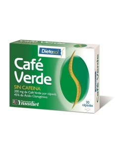 CAFE VERDE SIN CAFEINA  YNSADIET 30 Caps