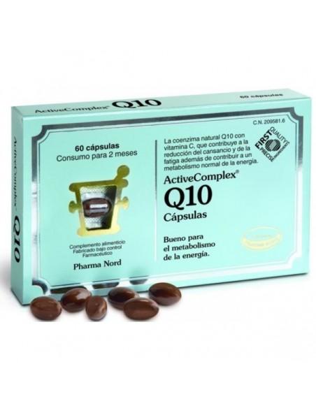 ACTIVECOMPLEX Q10 GOLD 60 CAPS PHARMA NORD