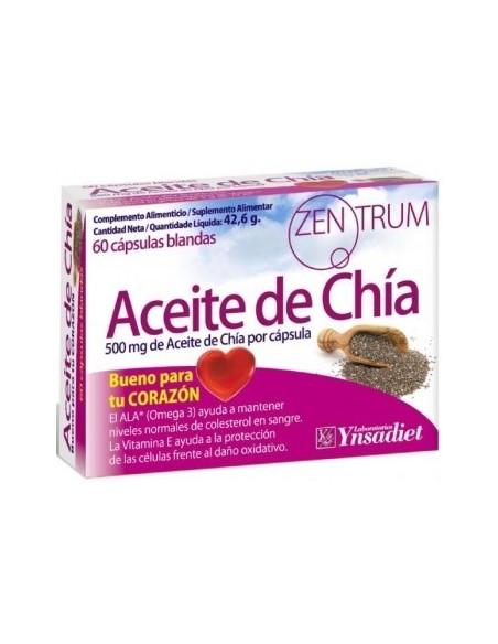 ACEITE DE CHIA 500mg 60 CAPS ZENTRUM