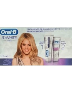 ORAL-B PASTA 3D WHITE PERFE 75ML + ACELERA 75ML