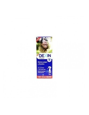 DEXIN SPRAY LOCION PIOJOS 100 ml +20 ml GRATIS