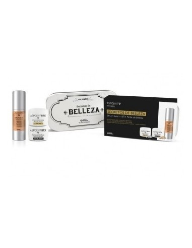 ASPOLVIT LATA REGALO SERUM 30 ml +  BTX  PERLS 10 DIA  10 NOCHE