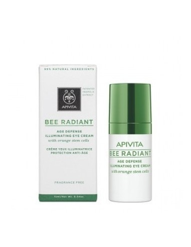 API BEE RADIANT CONTORNO DE OJOS 15ML