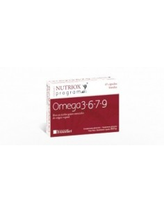 NUTRIOX PROGRAM OMEGA 3-6-7-9 45 CAPSULAS