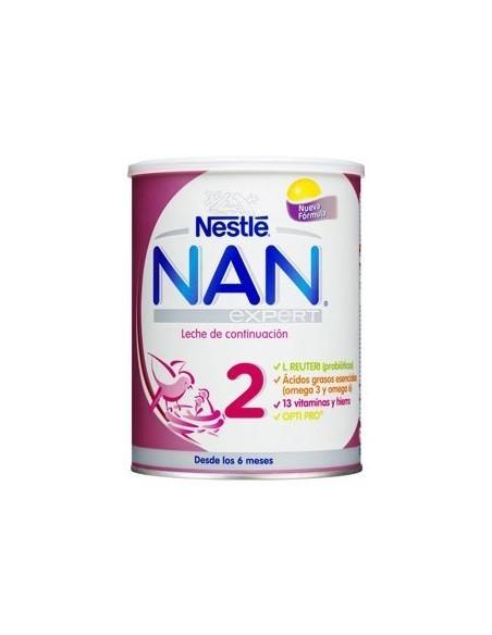 NESTLE NAN 2 EXPERT LECHE CONTINUACION 800