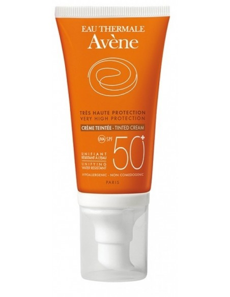 AVENE SOLAR 50+ COLOR 50ML CREMA OIL FREE