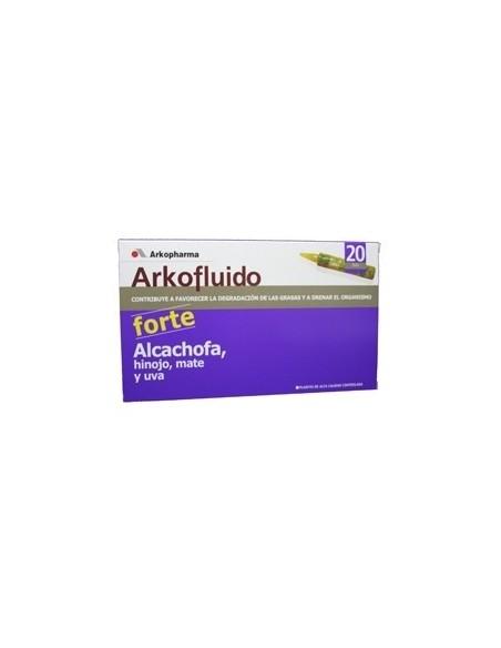 ARKOFLUIDO ALCACHOFA FORTE 20 AMPOLLAS 15ml